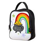Rainbow with Crock of Gold Neoprene Lunch Bag