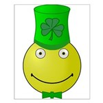 Smiley with Shamrock Posters