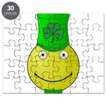 Smiley with Shamrock Puzzle