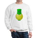 Smiley with Shamrock Sweatshirt