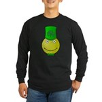 Smiley with Shamrock Long Sleeve T-Shirt