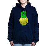 Smiley with Shamrock Hooded Sweatshirt