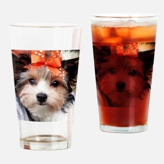 Biewer Bow Drinking Glass