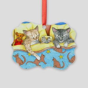 Cat 404 Picture Ornament