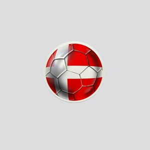 Danish Football Mini Button