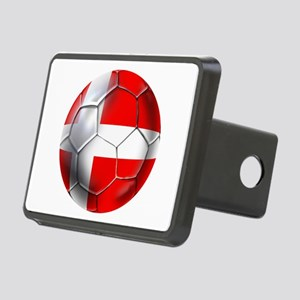 Danish Football Rectangular Hitch Cover