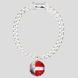Danish Football Charm Bracelet, One Charm