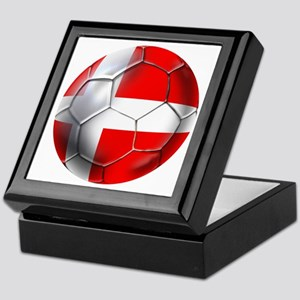 Danish Football Keepsake Box