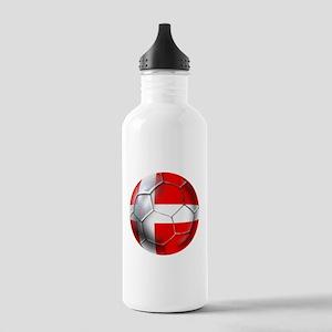 Danish Football Stainless Water Bottle 1.0L