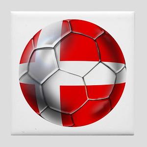 Danish Football Tile Coaster