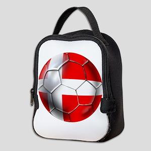 Danish Football Neoprene Lunch Bag