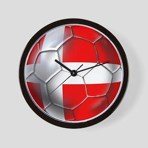 Danish Football Wall Clock