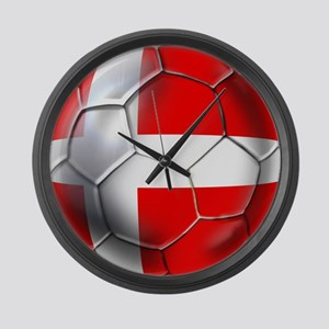 Danish Football Large Wall Clock