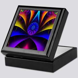 Abstract spider Keepsake Box