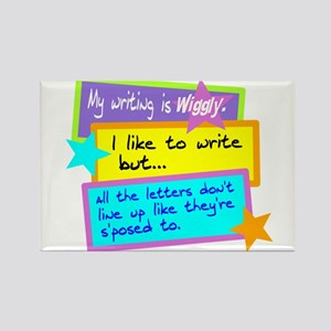 Wiggly Writing/kids Magnets
