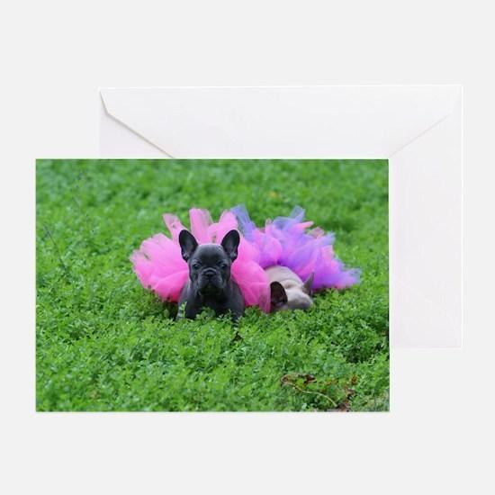 Love a Loyal Bulldog  Greeting Card