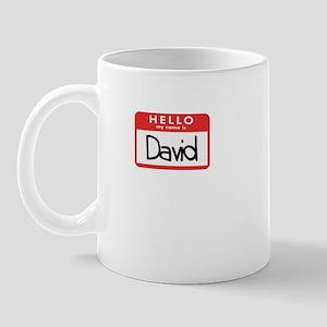 Hello David Mug