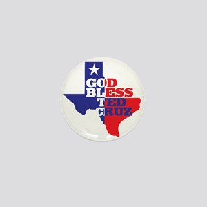 God Bless Ted Cruz Mini Button