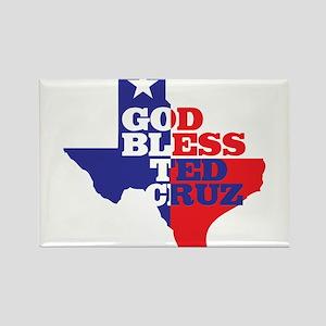 God Bless Ted Cruz Magnets
