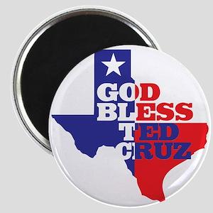 God Bless Ted Cruz Magnet