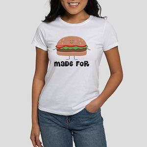 Hamburger and Fries Women's T-Shirt