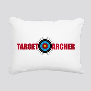 Target Archer Rectangular Canvas Pillow