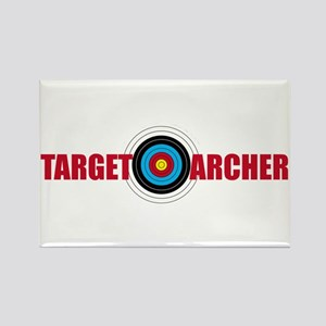 Target Archer Rectangle Magnet