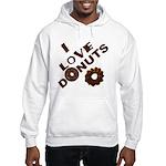 I Love Donuts! Hooded Sweatshirt