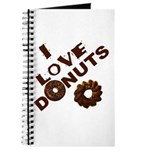 I Love Donuts! Journal