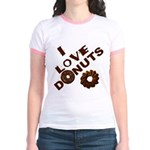 I Love Donuts! Jr. Ringer T-Shirt