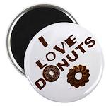 I Love Donuts! Magnet