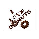 I Love Donuts! Mini Poster Print