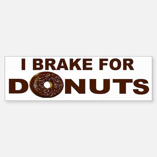 I Love Donuts! Bumper Bumper Bumper Sticker