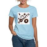 I Love Donuts! Women's Light T-Shirt