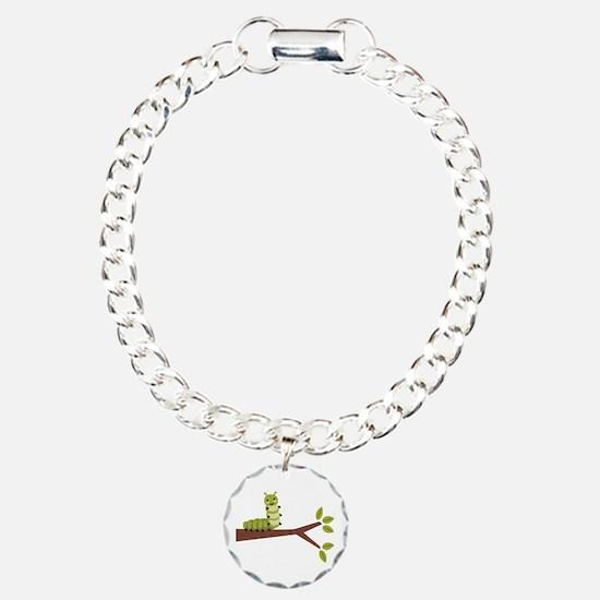 Caterpillar on Twig Bracelet