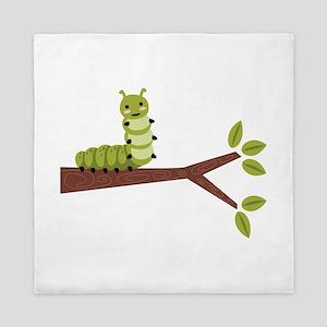 Caterpillar on Twig Queen Duvet