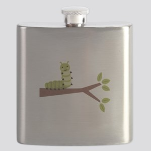 Caterpillar on Twig Flask