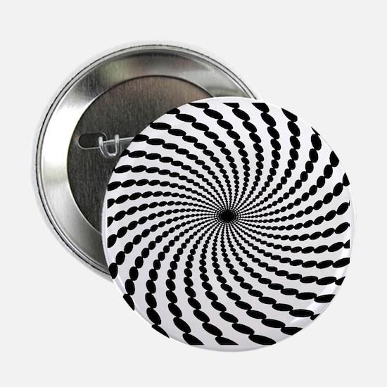 """Hypnotic Spiral 2.25"""" Button"""