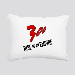 300 Rise of an Empire Rectangular Canvas Pillow