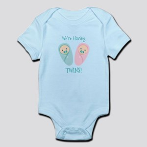 Were Having TWINS! Body Suit