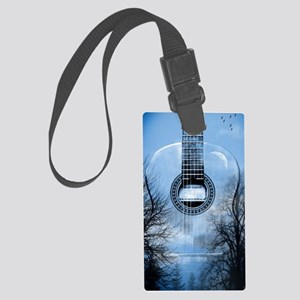 guitar  Large Luggage Tag