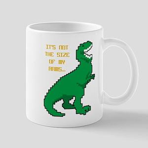 8 Bit T-Rex Short Arms Mug