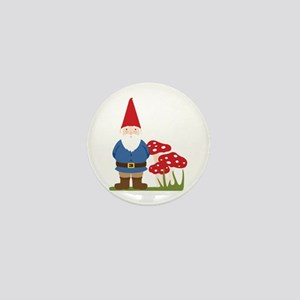 Garden Gnome Mini Button
