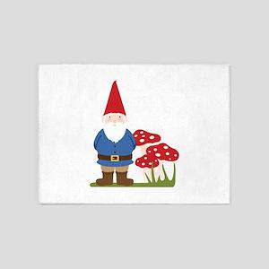 Garden Gnome 5'x7'Area Rug