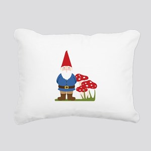 Garden Gnome Rectangular Canvas Pillow