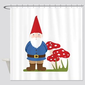 Garden Gnome Shower Curtain