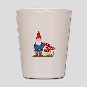 Garden Gnome Shot Glass