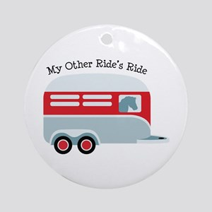 My Other Rides Ride Ornament (Round)