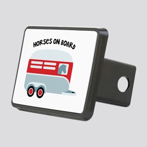 HORSES ON BOARD Hitch Cover