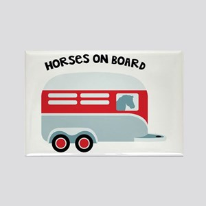 HORSES ON BOARD Magnets
